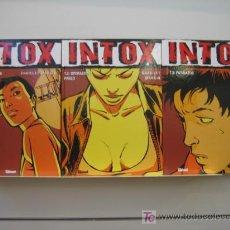 Cómics: INTOX COMPLETA 3 NUMEROS GLENAT OFERTA. Lote 130719215