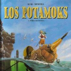 Cómics: LOS POTAMOKS ( GLÉNAT ) ORIGINAL 2001 Nº.1. Lote 26450893