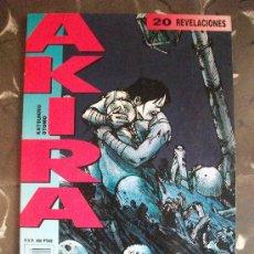Cómics: AKIRA Nº 20 MANGA COLOR GLENAT. Lote 26620003