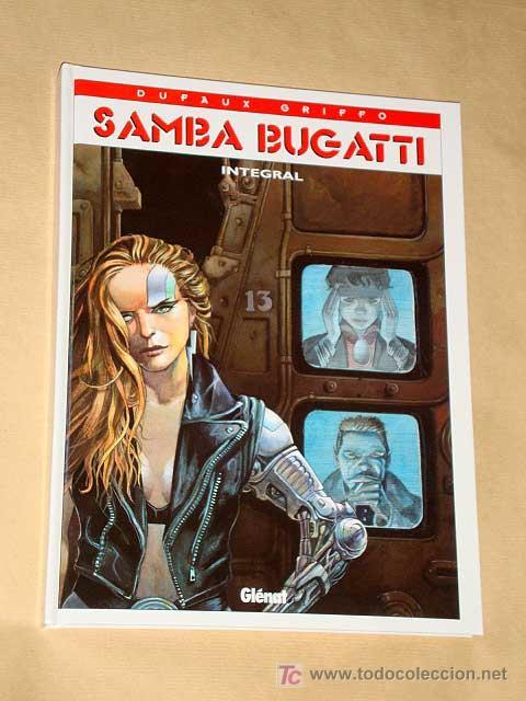 SAMBA BUGATTI POR DUFAUX Y GRIFFO, INTEGRAL 4 TÍTULOS. GLENAT. MISMO UNIVERSO QUE BEATIFICA BLUES. + (Tebeos y Comics - Glénat - Comic USA)