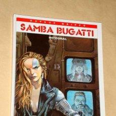 Cómics: SAMBA BUGATTI POR DUFAUX Y GRIFFO, INTEGRAL 4 TÍTULOS. GLENAT. MISMO UNIVERSO QUE BEATIFICA BLUES. +. Lote 24563656