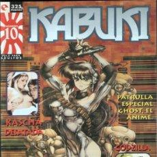 Cómics: REVISTA-COMIC KABUKI, Nº 10. AÑO 1996. COMO NUEVA, VER FOTO.. Lote 21157169