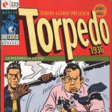 Cómics: TORPEDO 16 BERNET-ABULI GLENAT. Lote 22644130
