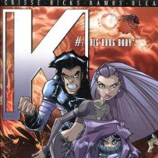 Cómics: K Nº 1: BIG BANG BABY - GLENAT 2006 - TAPAS DURAS - 48 PÁGINAS COLOR. Lote 22662030