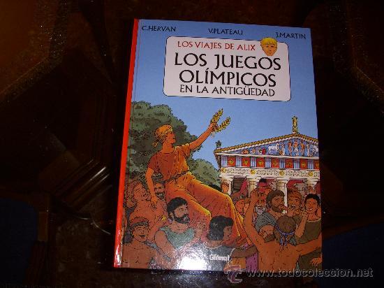 LOS VIAJES DE ALIX, LOS JUEGOS OLÍMPICOS EN LA ANTIGUEDAD, TAPA DURA, EDITORIAL GLENAT (Tebeos y Comics - Glénat - Autores Españoles)
