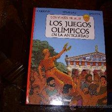 Cómics: LOS VIAJES DE ALIX, LOS JUEGOS OLÍMPICOS EN LA ANTIGUEDAD, TAPA DURA, EDITORIAL GLENAT. Lote 26194302