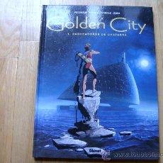Cómics: COMIC GOLDEN CITY 1 - SAQUEADORES DE CHATARRA - PECQUEUR, MALFIN, SCHELLE, ROSA - GLÉNAT. Lote 27213028