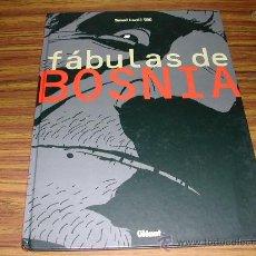 Comics: FABULA SDE BOSNIA. TOMAZ LAVRIC TBC. AÑO 2002. C 4618. Lote 24911827