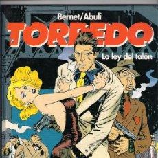Cómics: TORPEDO . TOMO 8 . LA LEY DEL TALON. Lote 25263629
