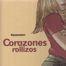 Cómics: CORAZONES ROLLIZOS - KRASSINSKY (NÚMERO 1). Lote 26070347