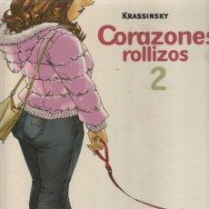 Cómics: CORAZONES ROLLIZOS - KRASSINSKY (NÚMERO 2). Lote 26070372