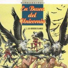 Comics: EN BUSCA DEL UNICORNIO LOS HERREROS BLANCOS Nº 2 DE GLENAT. Lote 26665268