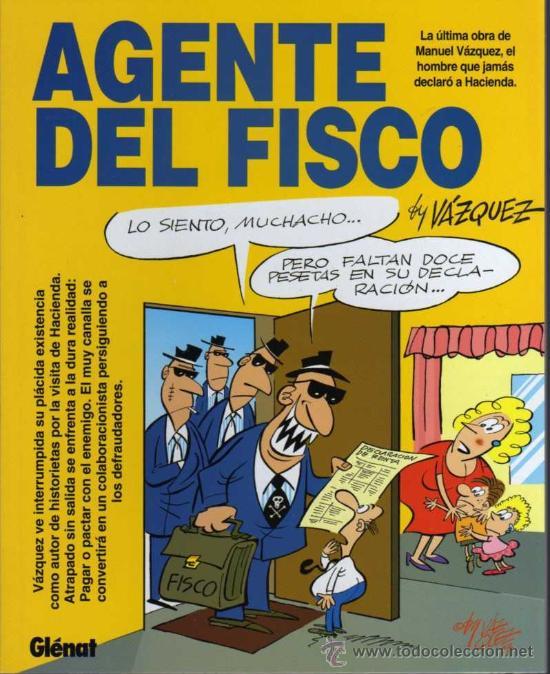 AGENTE DEL FISCO - BY VAZQUEZ - ED. GLENAT 1993 (Tebeos y Comics - Glénat - Autores Españoles)