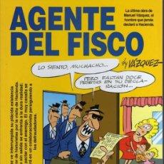 Cómics: AGENTE DEL FISCO - BY VAZQUEZ - ED. GLENAT 1993. Lote 26914748