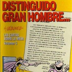 Cómics: DISTINGUIDO GRAN HOMBRE - BY VAZQUEZ - COL. GENIOS DEL HUMOR Nº5 - GLENAT 1995. Lote 27079171
