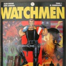 Cómics: WATCHMEN - TOMO 1 - EL COMEDIANTE - ALAN MOORE / DAVE GIBBONS - GLÉNAT. Lote 27810156