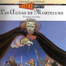 Cómics: LAS AGUAS DE MORTELUNE - EL AJEDREZ DE LA RATA - ADAMOV / COTHIAS - VIÑETAS COMPLETAS Nº 1 - GLÉNAT. Lote 27874734