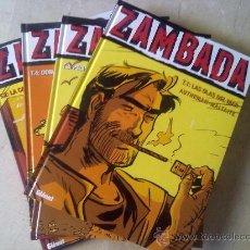 Cómics: COLECCIÓN VIÑETAS NEGRAS - ZAMBADA- TOMOS DEL 1 AL 4 COMPLETA - DESCATALOGADO. Lote 27955643