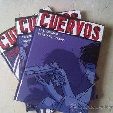 Cómics: COLECCIÓN VIÑETAS NEGRAS - CUERVOS- TOMOS Nº 1 A 3 DESCATALOGADOS. Lote 28163361