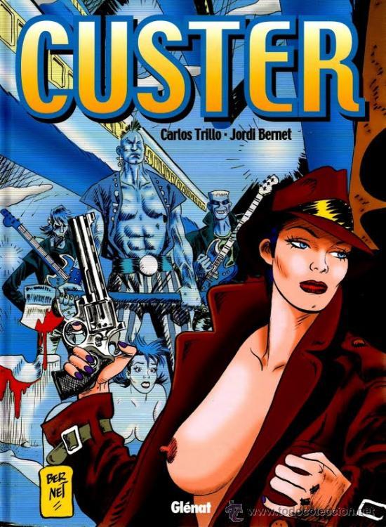 CUSTER - CARLOS TRILLO Y JORDI BERNET - ED. GLENAT 2001 - 20% DESCUENTO (Tebeos y Comics - Glénat - Autores Españoles)