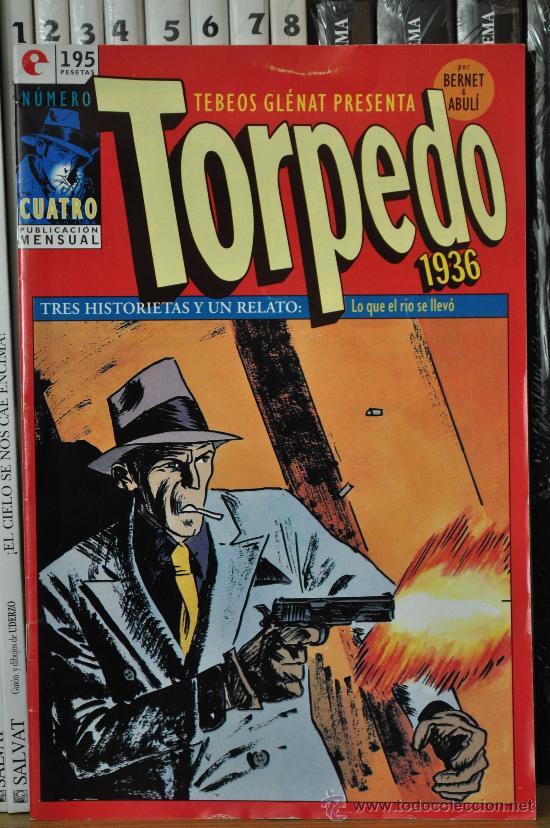 TORPEDO Nº 4 (GRAPA) (Tebeos y Comics - Glénat - Autores Españoles)