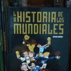 Cómics: LA HISTORIA DE LOS MUNDIALES, DE VÍCTOR GIMÉNEZ. Lote 28921748