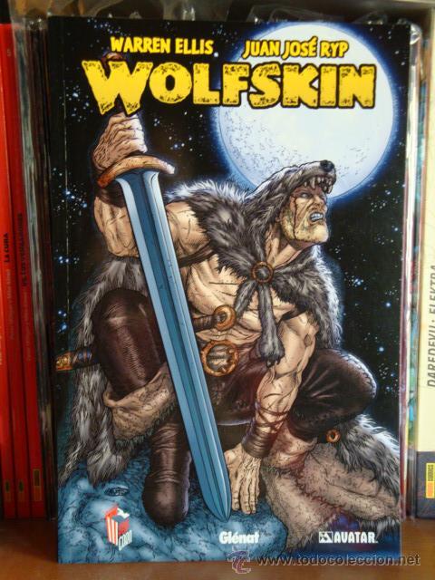 WOLFSKIN, DE WARREN ELLIS Y JUAN JOSÉ RYP. GLÉNAT (Tebeos y Comics - Glénat - Comic USA)