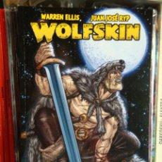 Cómics: WOLFSKIN, DE WARREN ELLIS Y JUAN JOSÉ RYP. GLÉNAT. Lote 28923386