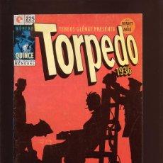 Cómics: COMIC • TORPEDO 1936 Nº 15 (JORDI BERNET) ED. GLÉNAT 1995. Lote 29350484