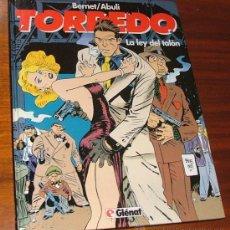 Cómics: CÓMIC 'TORPEDO T8: LA LEY DEL TALÓN' (BERNET, ABULÍ). Lote 29764522