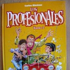 Cómics: LOS PROFESIONALES. CARLOS GIMENEZ. TOMO 2. GLENAT.. Lote 30334170