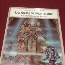 Cómics: LAS AGUAS DE MORTELUNE 6 EL Nº DE LA BESTIA GLENAT. Lote 30445641