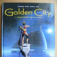 Cómics: GOLDEN CITY Nº 1 SAQUEADORES DE CHATARRA PECQUEUR MALFIN SCHELLE ROSA ED. GLENAT 2002 TAPAS DURAS . Lote 30448801