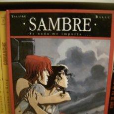 Cómics: SAMBRE TOMO 1: YA NADA ME IMPORTA. GLÉNAT, 1993... Lote 30781012