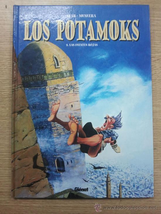 LOS POTAMOKS #2 LAS FUENTES ROJAS (Tebeos y Comics - Glénat - Comic USA)
