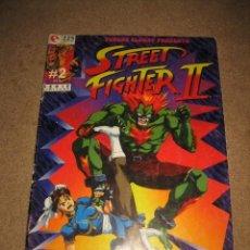 Cómics: STREET FIGHTER II Nº 2 MASAOMI KANZAKI EDIT. GLENAT 1994 . Lote 31070745