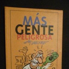 Cómics: MÁS GENTE PELIGROSA. BY VÁZQUEZ. GLÉNAT.. Lote 31432397