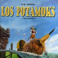 Cómics: LOS POTAMOKS 1 - TIERRA INCÓGNITA - CJ26. Lote 31528108