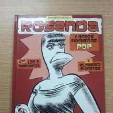 Cómics: ROSENDA Y OTROS MOMENTOS POP. Lote 31793385