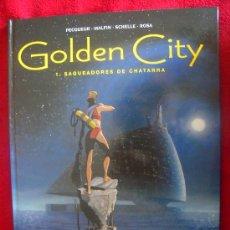 Cómics: GOLDEN CITY 1 - SAQUEADORES DE CHATARRA . PECQUEUR&MALFIN&SCHELLE&ROSA - CARTONE. Lote 31939317