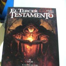 Cómics: EL TERCER TESTAMENTO Nº 3 : LUCAS O EL ALIENTO DEL TORO /DORISON - ALICE ¡ALBUM 56 PAGINAS ! GLENAT. Lote 151295877