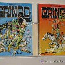 Cómics: GRINGO COMPLETA 2 TOMOS - CARLOS GIMENEZ - GLENAT OFERTA. Lote 115307246