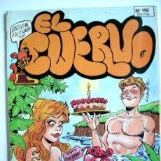 Cómics: EL CUERVO--Nº 119--AÑO 1992 ORIGINAL--DIFICIL. Lote 32596294