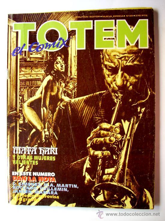TOTEM--Nº 39--AÑO 1987 ORIGINAL (Tebeos y Comics - Glénat - Serie Erótica)