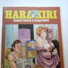 Cómics: HARAKIRI-- Nº 121-- AÑO 1992 ORIGINAL. Lote 32648717