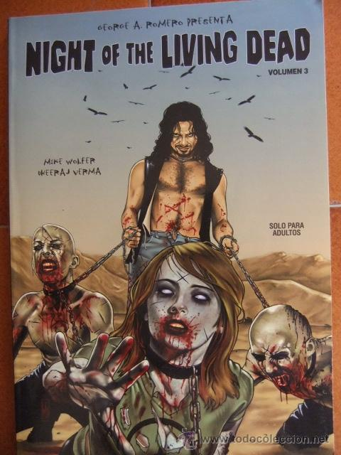 NIGHT OF THE LIVING DEAD VOLUMEN Nº 3 (Tebeos y Comics - Glénat - Comic USA)