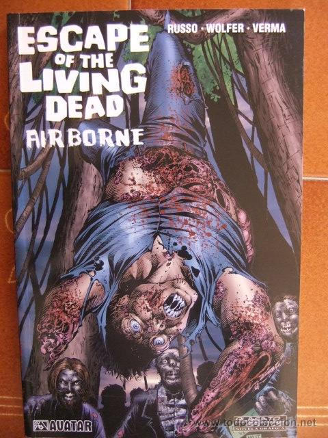 ESCAPE OF THE LIVING DEAD, AIR BORNE (Tebeos y Comics - Glénat - Comic USA)