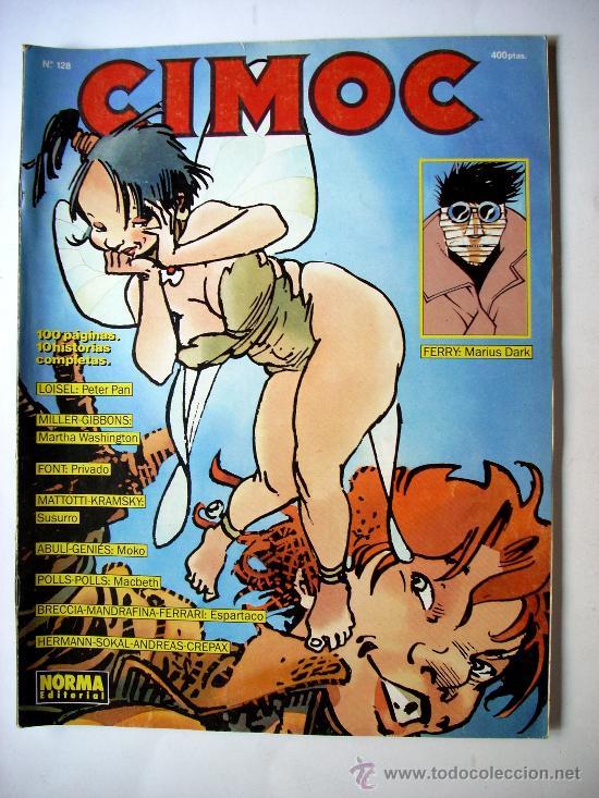 CIMOC--Nº 128--AÑO 1991 ORIGINAL (Tebeos y Comics - Glénat - Serie Erótica)