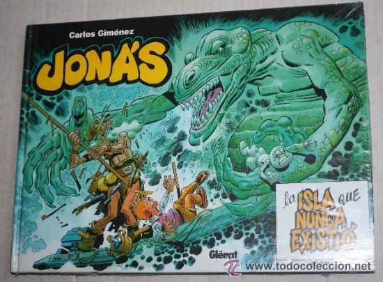 TEBEOS-COMICS GOYO - JONAS Y LA ISLA QUE NUNCA EXISTIO - GLENAT -MUY RARO DE VER ESTE ESTADO *AA99 (Tebeos y Comics - Glénat - Autores Españoles)