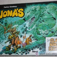 Cómics: TEBEOS-COMICS GOYO - JONAS Y LA ISLA QUE NUNCA EXISTIO - GLENAT -MUY RARO DE VER ESTE ESTADO *AA99. Lote 32725626